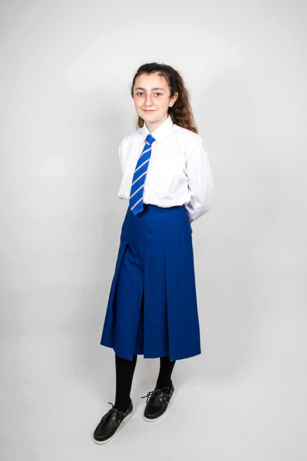 St. Mary's Secondary School Knee-Length Skirt