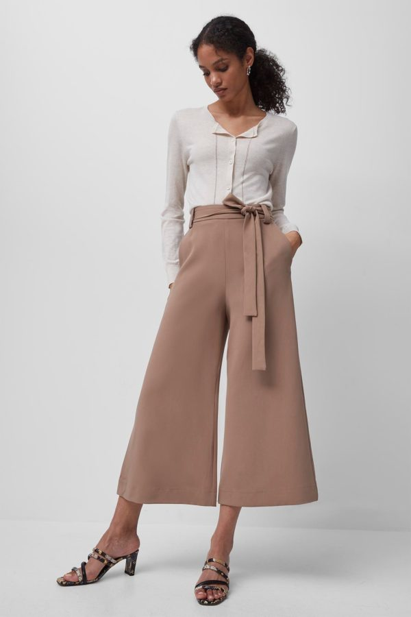 Whisper Belted Culottes