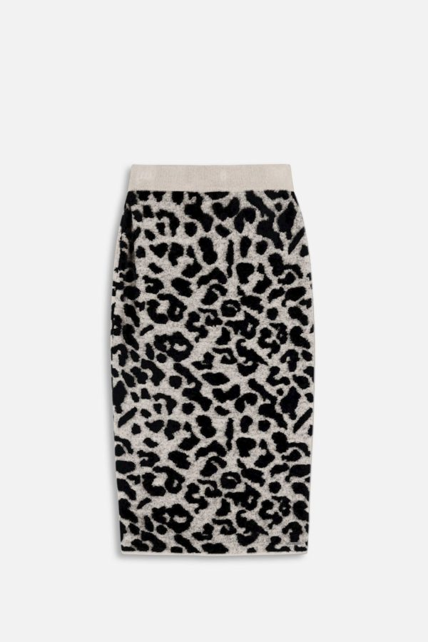 Necii Knitted Pencil Skirt