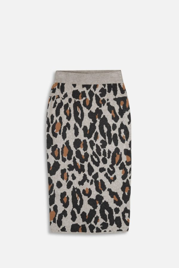 Neci Knitted Pencil Skirt