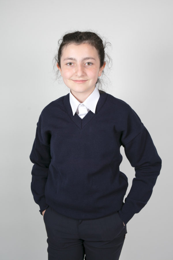 Plain Primary School Navy Jumper