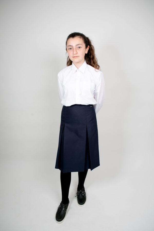 Primary School Blue Deerpark Long-Sleeve Shirt