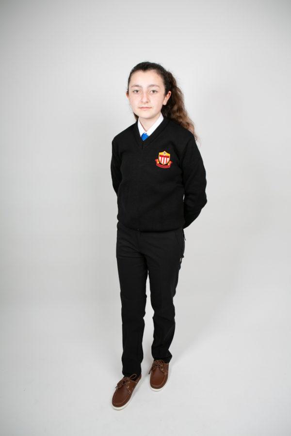 St. Mary's Secondary School Black Jumper