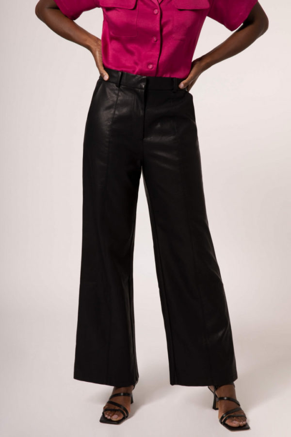 Poliana Faux Leather trousers